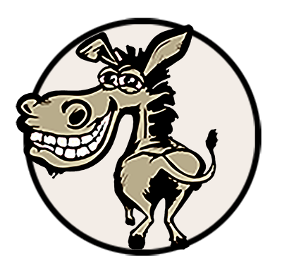 Wacky Donkey Web Developing Logo